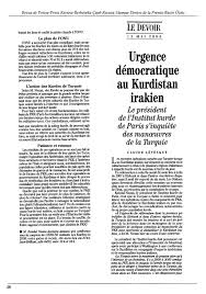 Annexe Iii Modèle D Arrêté Emportant Blâme Les Kurde Information And Liaison Bulletin De N 278 Institut Pdf