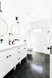 black and white bathroom design rooms viewer hgtv
