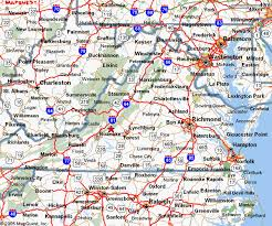 map of virginia and carolina map of virginia and carolina virginia map