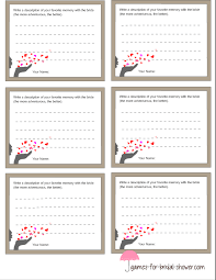 free printable bridal shower left right game printable memory with the bride game cards
