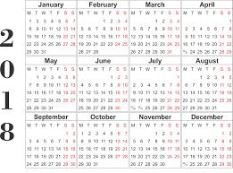 2018 Calendar Template Excel Archives Letter & Calendar
