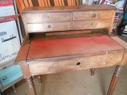bureau secretaire antique bureau secrétaire en bois vintage les vieilles choses