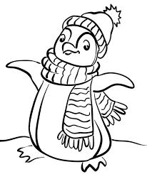 penguin coloring pages kids u2013 corresponsables