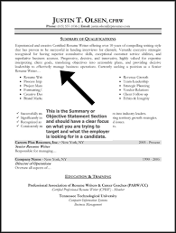 best resume summary statement examples good objective statements