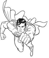 Handsome Superman Coloring Page Superman Pinterest Coloring Superman Coloring Pages Print