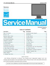lenovo l172 service manual