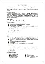 Chemistry Resume Example by Resume Blog Co Resume Sample Of M Sc In Biotechnology Working As