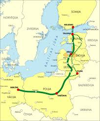 Map Of Germany And Poland by The 430 Mile Route Will Link Finland Estonia Latvia Lithuania