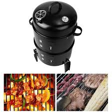 Backyard Grills Walmart - 3 in 1 multi functional fire pit charcoal grill smoker kit outdoor