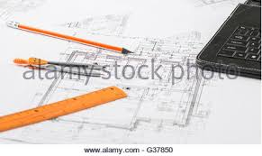 House Building Calculator House Building Construction Plans With Calculator Pencil And