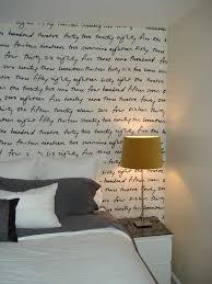 this is frabric from ikea starched to a wall very clever http