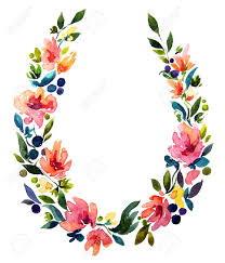 flower wreath floral wreath clipart free clipartxtras