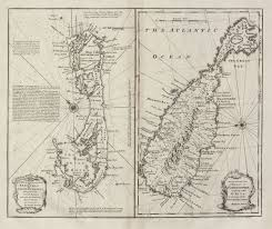 Map Of Bermuda A New U0026 Accurate Map Of Bermudas Or Sommer U0027s Islands Taken From