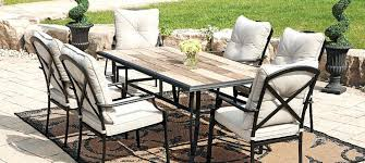 Glass Patio Table Set Fascinating Walmart Patio Furniture Sets Cheap Outdoor Patio