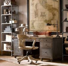 Antique Desks For Home Office Antique Desk Ideas With Wooden Swivel Chair And Antique World Map