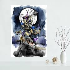 The Nightmare Before Christmas Home Decor Online Buy Wholesale Christmas Posters Prints From China Christmas