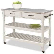 savannah kitchen cart white traditional kitchen islands and