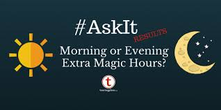 ask it results best magic hours touringplans