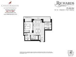 Vancouver Floor Plans Floor Plans Ph4 1088 Richards St In Vancouver Yaletown Condo