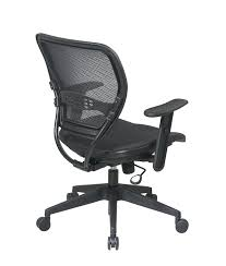 Leather Bucket Chair Amazon Com Space 5560 Space Air Grid Deluxe Task Chair 20 1 2w X
