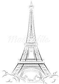 images and places pictures and info france eiffel tower drawing
