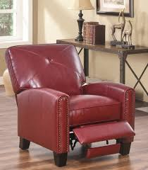 red leather recliner u2013 massagroup co