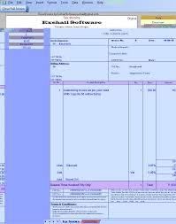 tax invoice format in excel vat forum invoice format in excel