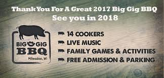 big gig bbq back for 2017 sizzling with live music and