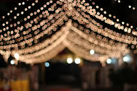 wedding lights wedding lights a curtain of lights are put up to welcome t flickr