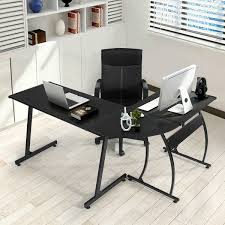 computer desk gaming 94 99 amazon com greenforest l shape corner computer office desk