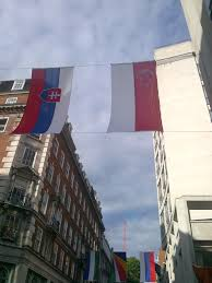 Flag You Down Hutning For The Singapore Flag In London Lift Limpeh Is Foreign