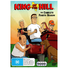 king of the hill king of the hill season 4 4 discs dvd big w