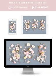 digital blooms march 2018 free desktop wallpapers justinecelina digital blooms february 2018 free blush floral desktop