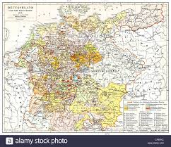 Germany Europe Map by Map Of Germany 19th Century Stock Photos U0026 Map Of Germany 19th