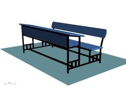 bench desk furniture max 3ds max software household items