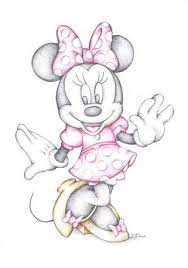 3 ways draw minnie mouse step step wikihow