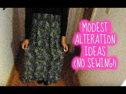 modest alteration ideas for the petite u0026 tall no sewing