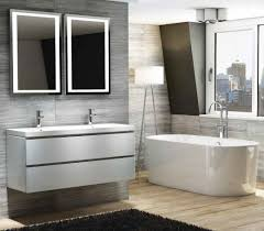 From Only  Linea White Modern Bathroom Vanity Unit - Designer vanity units for bathroom