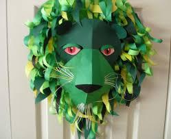 diy simple animal face mask for kids tutorial k4 craft