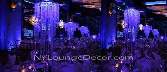 chandelier centerpieces ny lounge decor acrylic centerpieces