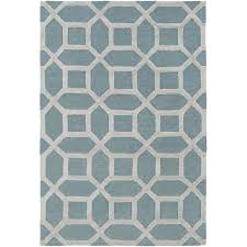 Turquoise And Gray Area Rug Artistic Weavers Arise Evie Hand Tufted Blue Gray Area Rug