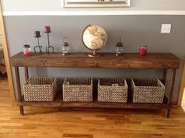 Hallway Table Reclaimed Wood Hall Table Almost Bohemian