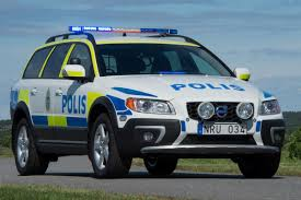 volvo sweden volvo u0027s updated 2014 xc70 d5 awd police car gets a thumbs up from