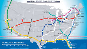 El Train Chicago Map by This Is What America U0027s High Speed Rail System Should Look Like