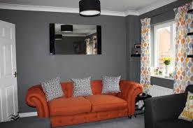 Orange Sofa Living Room Ideas Orange Sofa Living Room Ideas Arched White Standing L