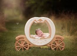 newborn photo props princess carriage prop carriage prop cinderella carriage