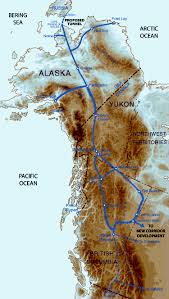 Alaska And Usa Map by Russia Suggests To Us And Europe To Use Transport Corridor Via Her