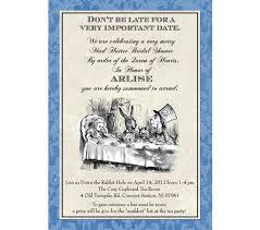 Party Invitation Wording Mad Hatter Tea Party Invitations Wording Cloveranddot Com