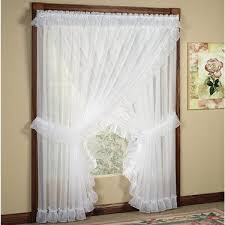 Ruffled Kitchen Curtains Ninon Ruffled Wide Priscilla Curtains Priscilla Curtains