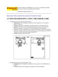 83421405 fanuc robotics system r j3 troubleshooting and